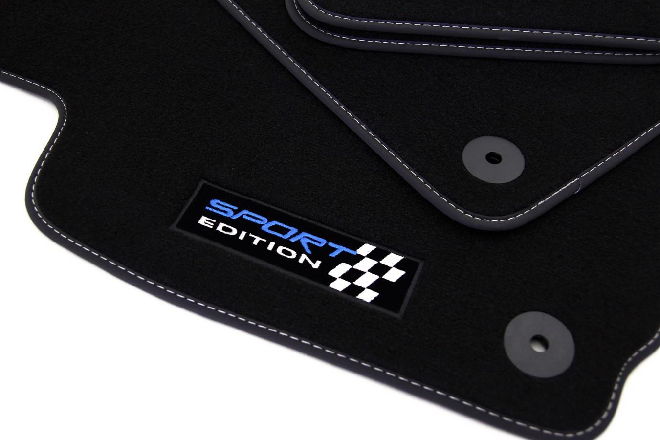 sport edition tapis de sol pour audi a3 8va sportback 2012 paillassons pour audi. Black Bedroom Furniture Sets. Home Design Ideas